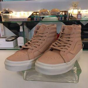 9579d44478d2 Vans Shoes - Vans Veggie Tan Leather Sk8-Hi Reissue Zip DX.